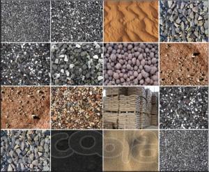 Гравий, щебень, песок искусственные пористые