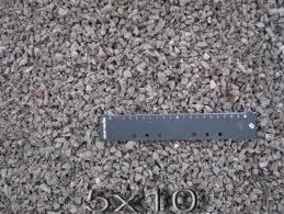 Щебень гранитный фракция в 5-10 мм
