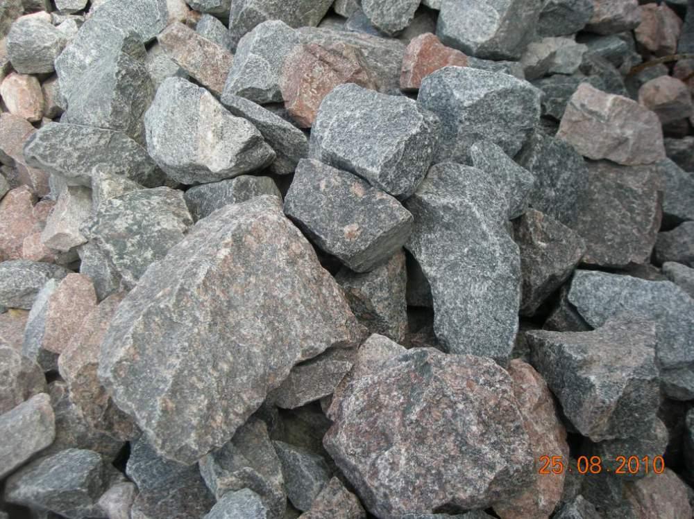Гранитный камень бутовый