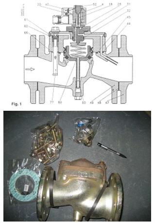 Электроклапан Данфосс Danfoss EV220B80С1 FL10N 016D3331  Ду 80 мм