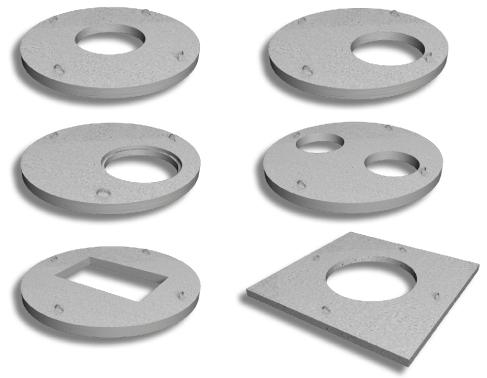Крышка колодцев  Ø1160; толщ.150 ПП10-1