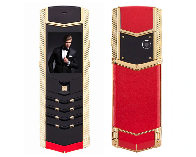 Купить H-Mobile V1 (Hope V1) red-gold. Vertu design Мобильный телефон