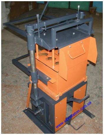 Buy Stationary machine for the production of cinder block-SCAT