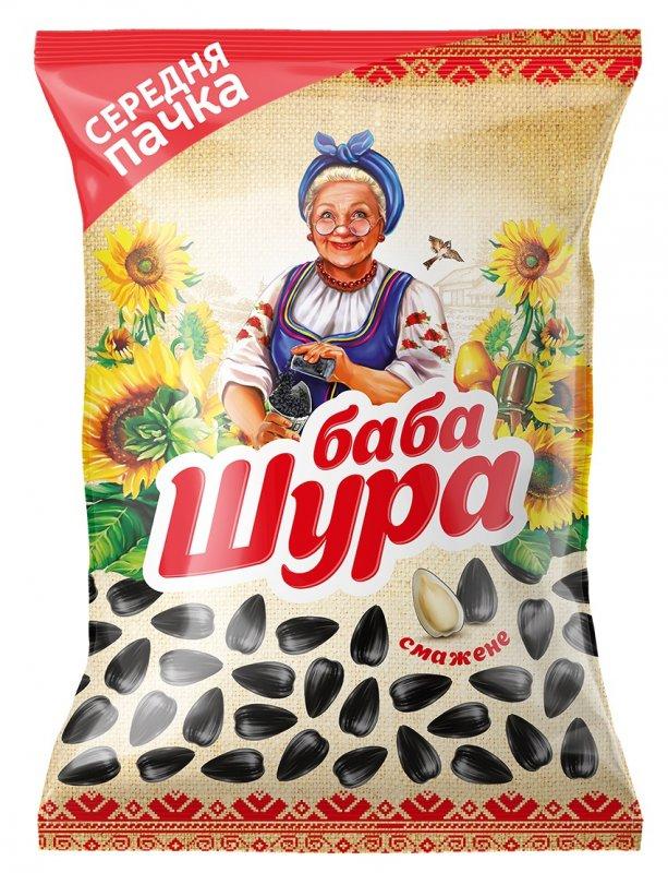 Купить Семена подсолнечника жареные ТМ Баба Шура, 110 г