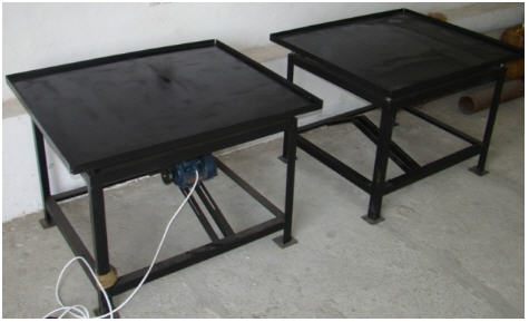 Buy Vibrotable forming 1000*1200mm for eurofences