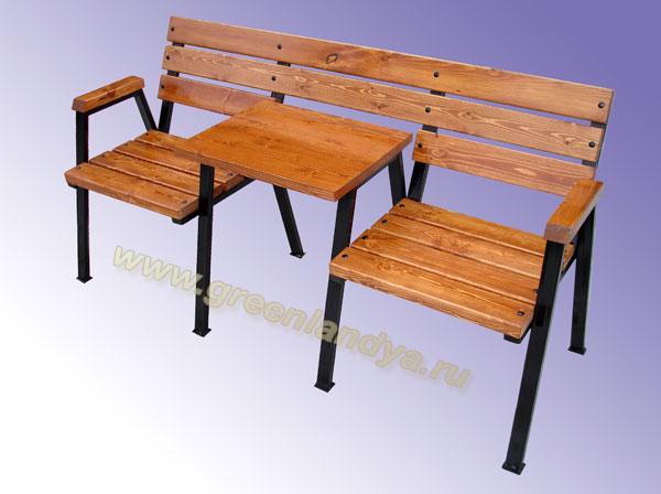 Столы из профиля фото