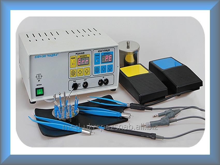 Купить Аппарат электрохирургический высокочастотный радиоволновой ЭХВЧ-120РХ/1.76 Надежда-4 (М- 120РХ/1.76)