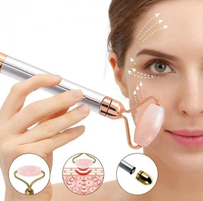 Купить Кварцевый массажер для лица Flawless Facial Roller Massager ART-339