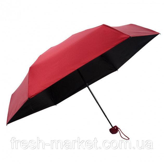 Купить Мини-зонт в капсуле Capsule Umbrella mini бордовый SKL11-204007