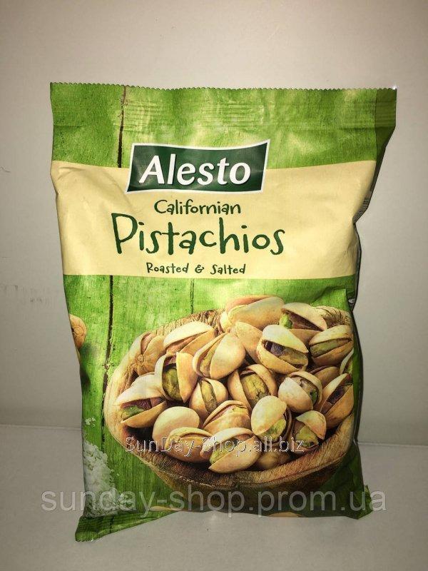 Купить Фісташки солоні Alesto Californian Pistachios 500 грам.