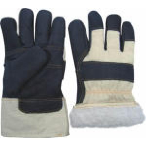 Купить Перчатки утеплённые из мягкой мебельной кожи