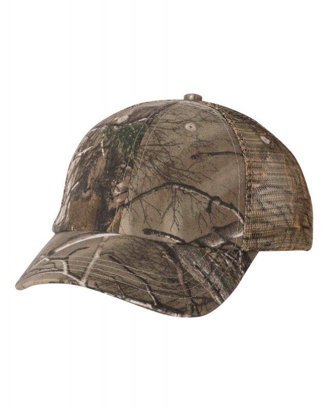 Кепка для охоты и рыбалки летняя KATI Unstructured Washed Mesh Hat