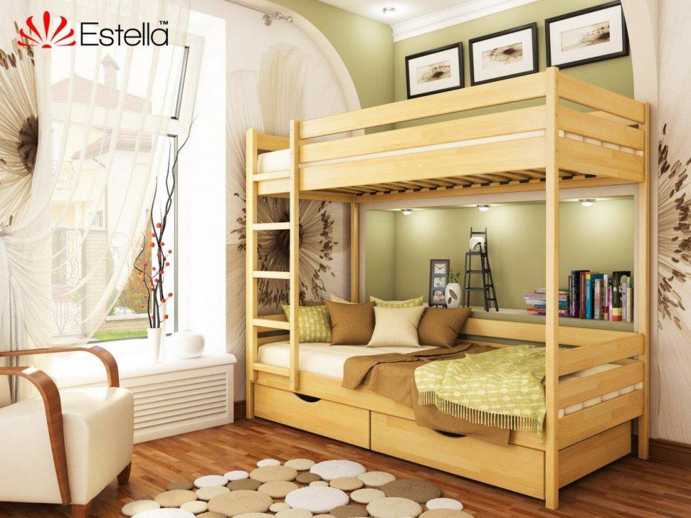 Купить Двухъярусная кровать Дует 80х200 102 Щит 2Л4 90х200