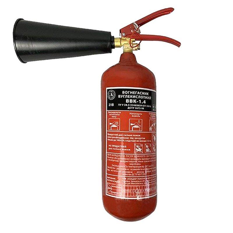 Купить Огнетушитель ВВК-1,4 (ОУ-2)