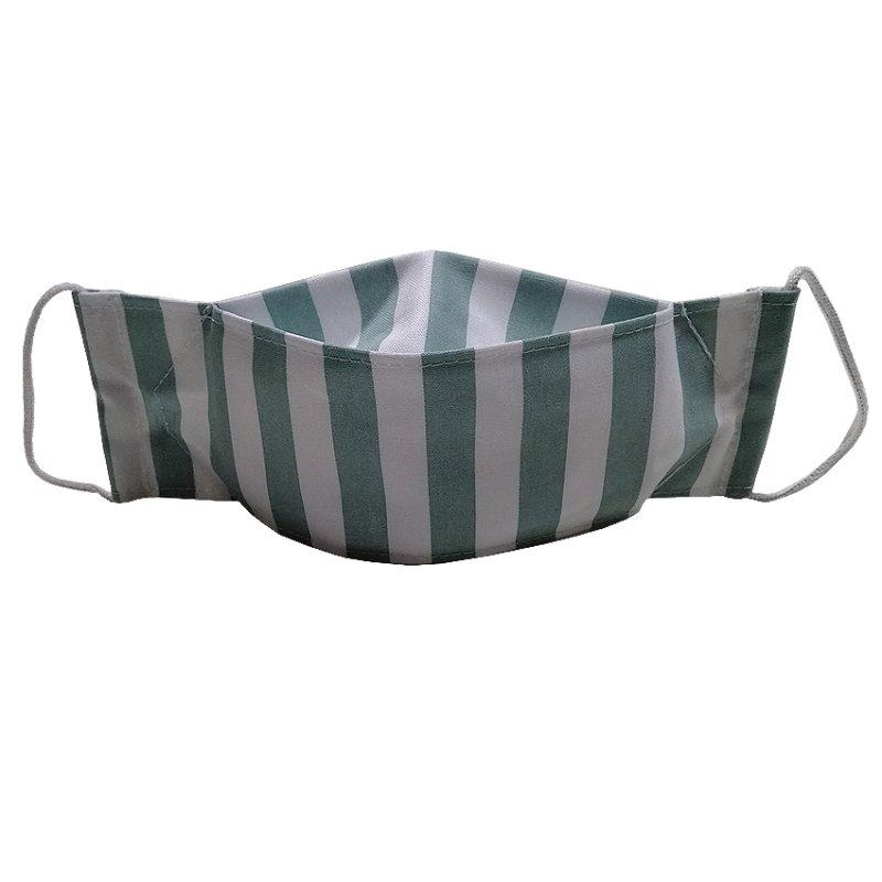 Купить Маска защитная для лица многоразовая хлопковая 3-х слойная с карманом под фильтр (L)
