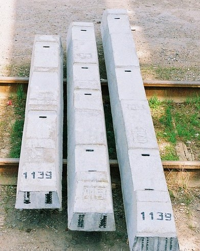 Изделия бетонные сборные (ЖБИ)