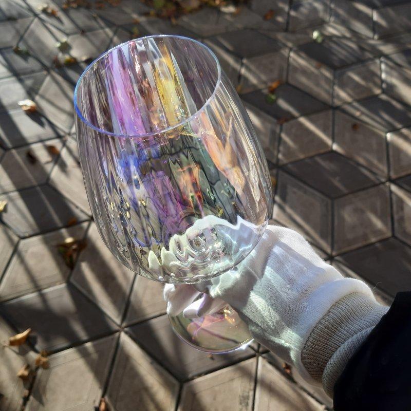 Купити Набір келихів для вина Rona Favourite optical 7361/1P 570 мл перламутр