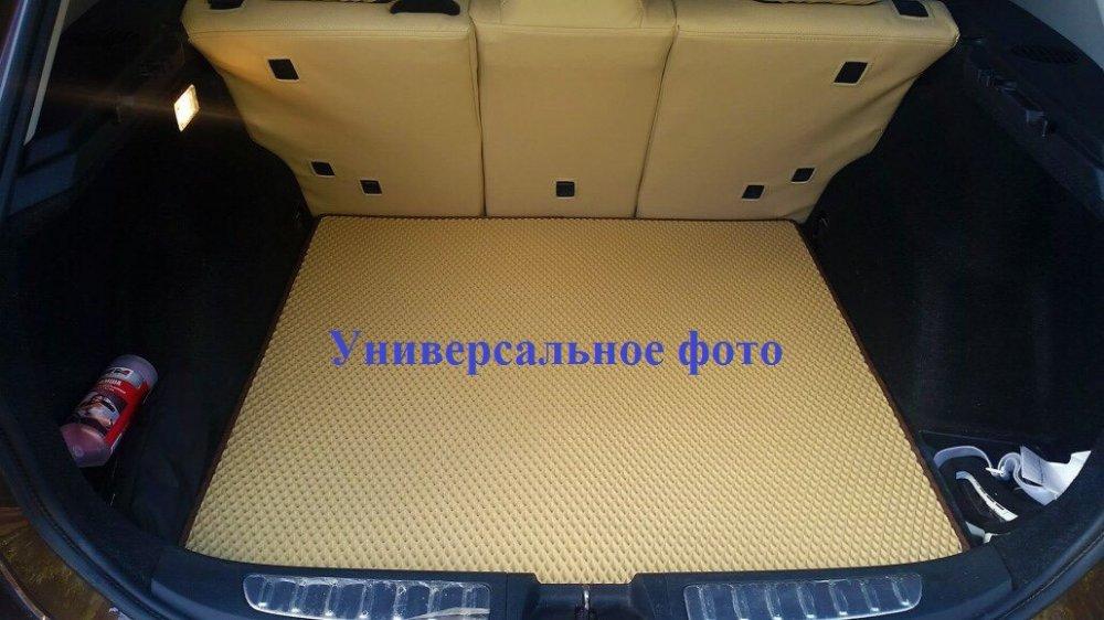 Купить EVA коврик в багажник Volkswagen Caddy Maxi 2004- 5 мест