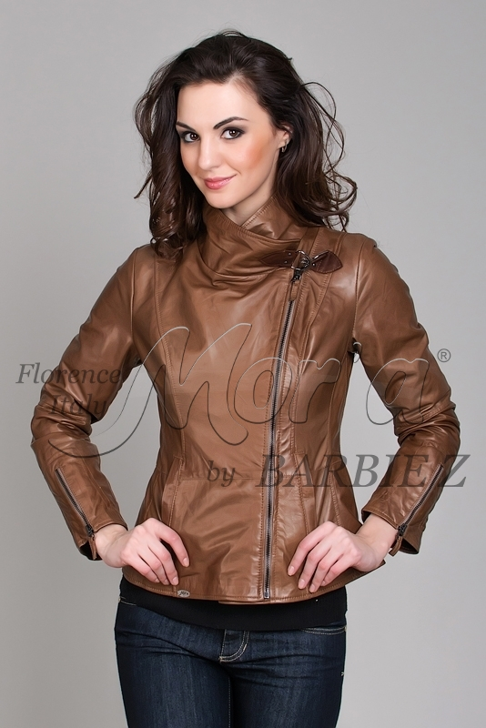 Noemi C), Куртка женская кожаная из овечьей кожи, женская кожанная куртка,