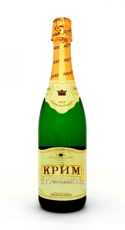 "Buy Sparkling wine (Champagne) ""Collection moist white"" KrimSek"