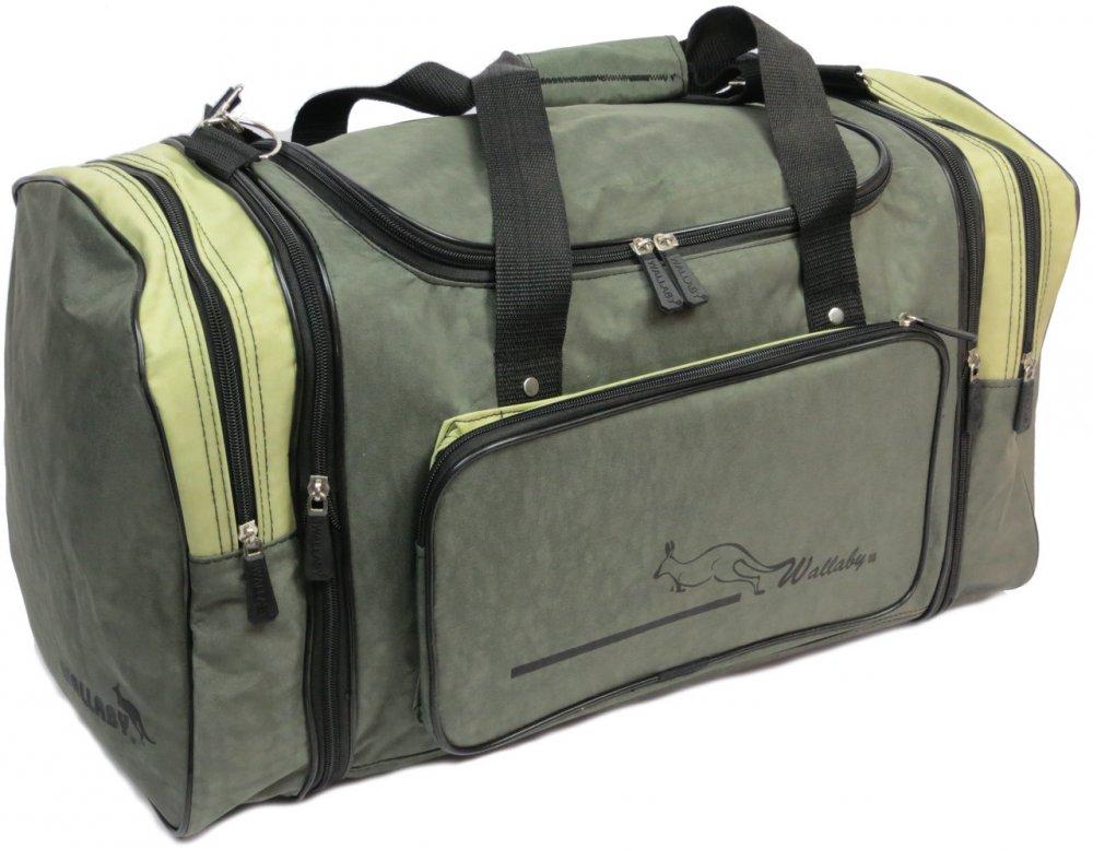 Купить Спортивная сумка с расширением 48 л Wallaby 375-2 хаки