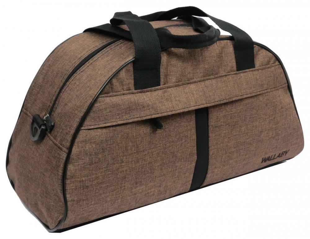 Купить Спортивная сумка для тренировок, фитнеса 16 л Wallaby 213-1 коричневая