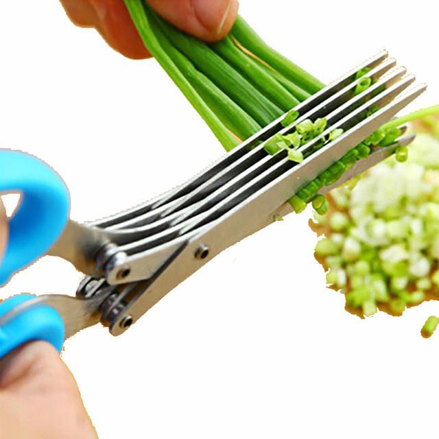 Купить Ножницы для зелени с 5 лезвиями Empire EM-3114 Blue