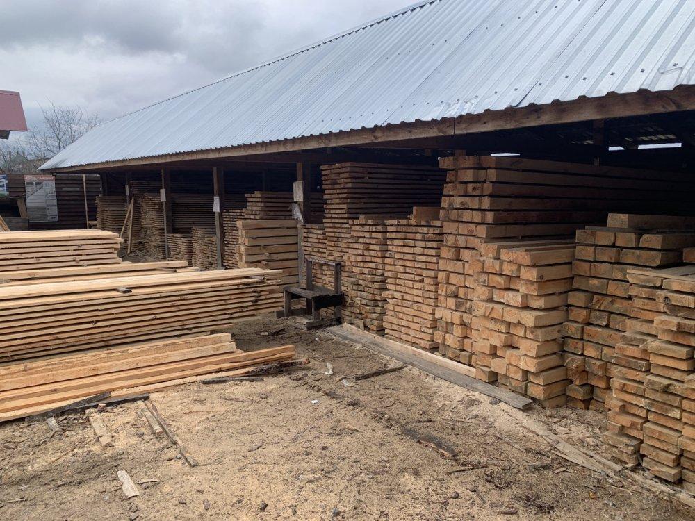 Купить Брус деревянный 50х200 мм (сосна )