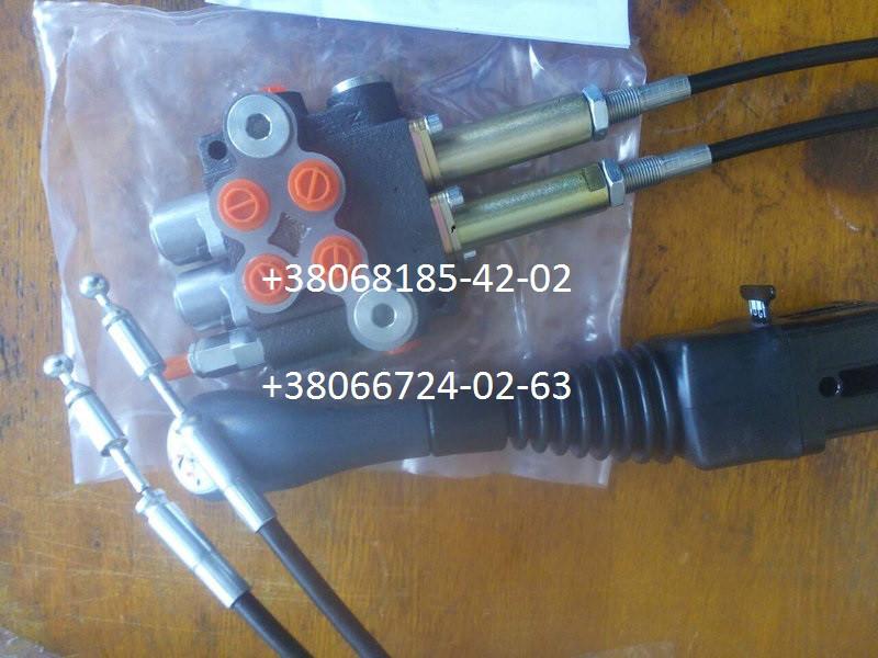 Купить Гидрораспределитель 2Р40 с тросовым управлением и джойстиком (комплект)