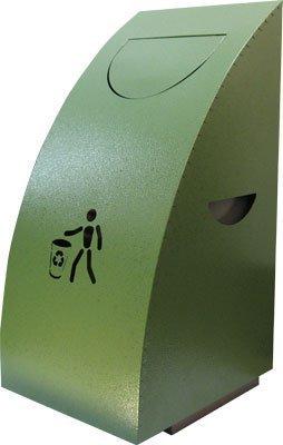 Урна для сміття зеленого кольору