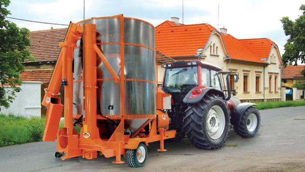 Зерносушилка Agrex PRT120/M (Bio-GAS) с ВОМ