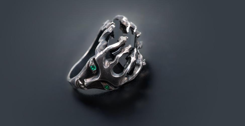 Кольцо Мистика, Кольца из серебра
