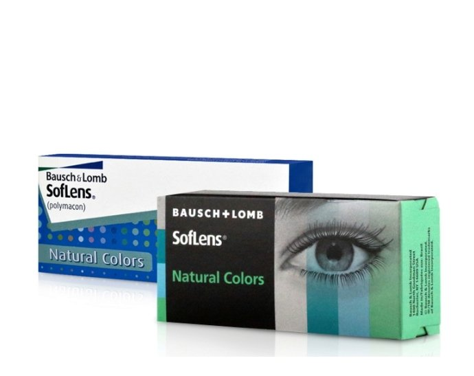 Контактные линзы Bausch Lomb SofLens Natural Colors 5d95afa0fb820