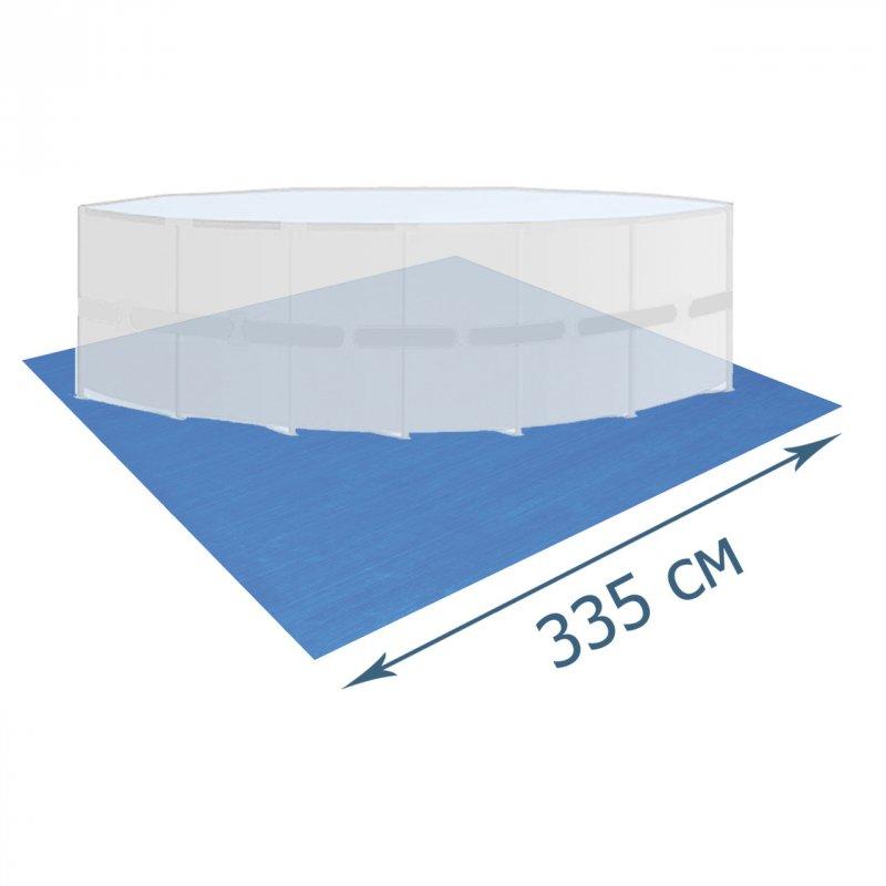 Купити Підстилка для басейну Bestway 58001, 335 х 335 см, квадратна