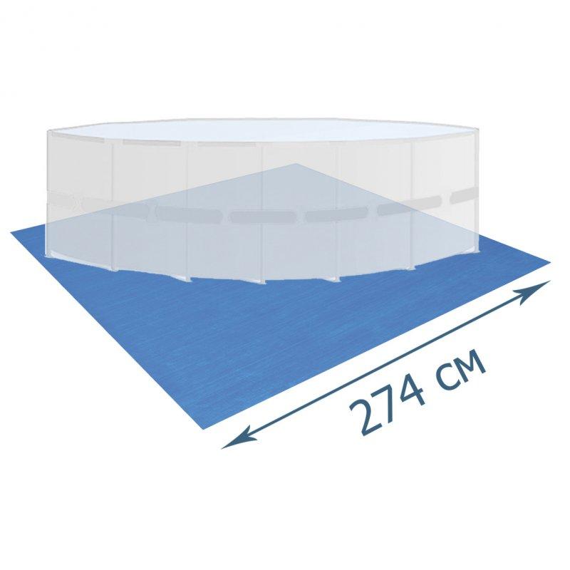 Купити Підстилка для басейну Bestway 58000, 274 х 274 см, квадратна