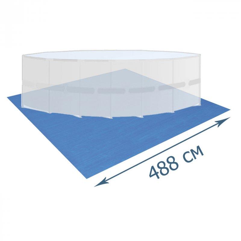 Купити Підстилка для басейну Bestway 58003, 488 х 488 см, квадратна