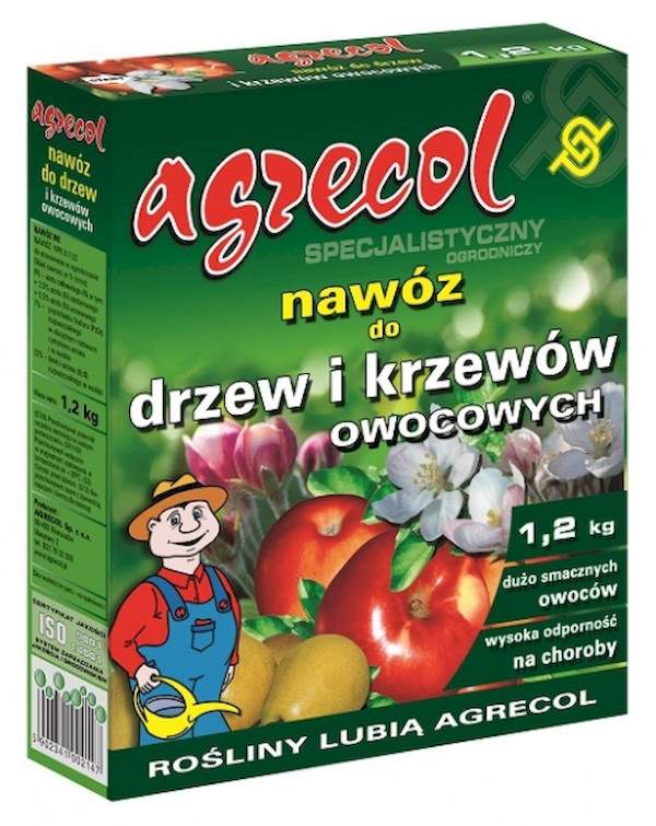 Купить Удобрение для фруктовых деревьев и кустарников Agrecol 1,2 кг