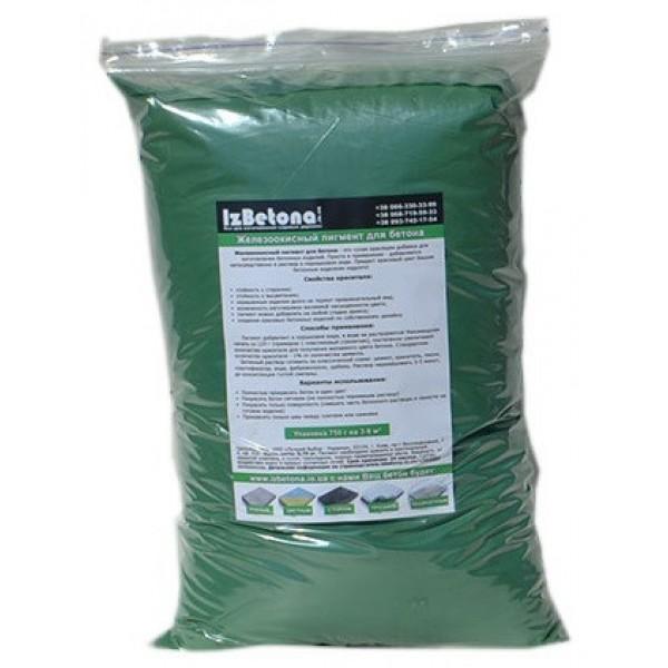 Купить Краситель для бетона Зеленый 835 2 кг