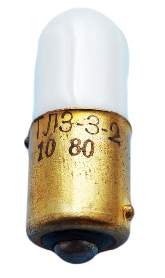 Лампа тлеющего разряда ТЛЗ 3-2 В15s (неоновые лампы)