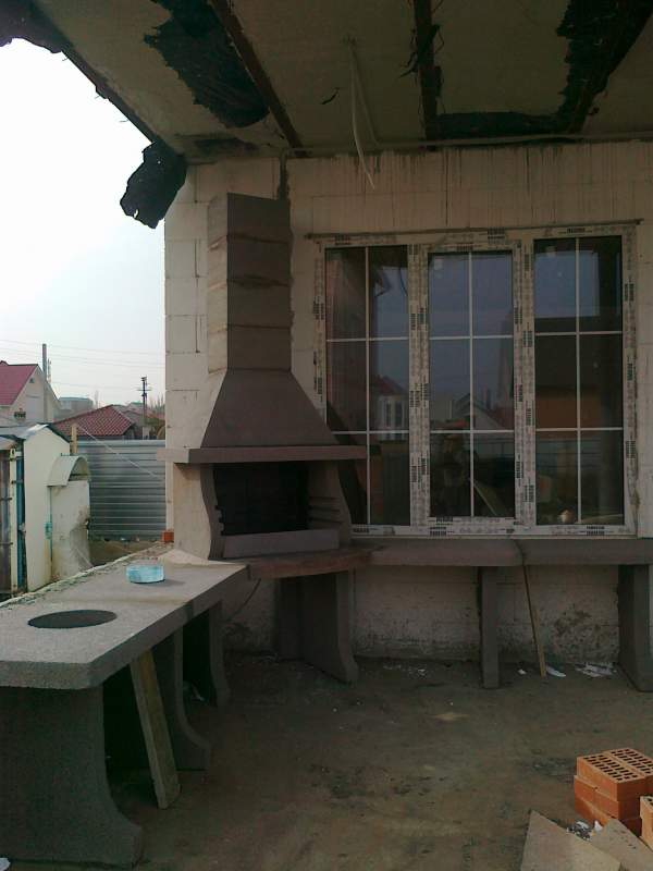 Строительство барбекю, заказать в Одессе и области