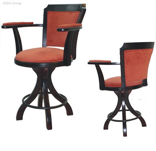 Кресла из натурального дерева W-07, кресла с деревянными подлокотниками