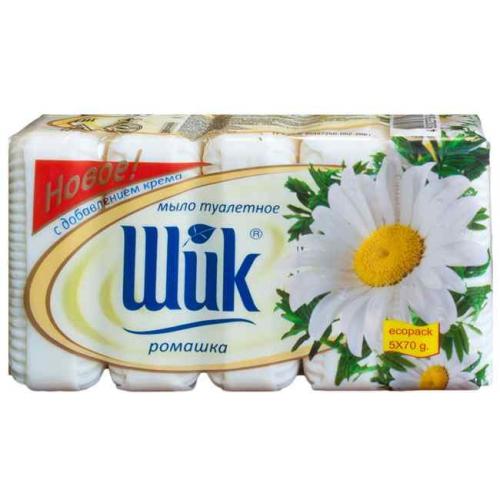 Купить Мило туалетне Шик екопак 5 х 70г