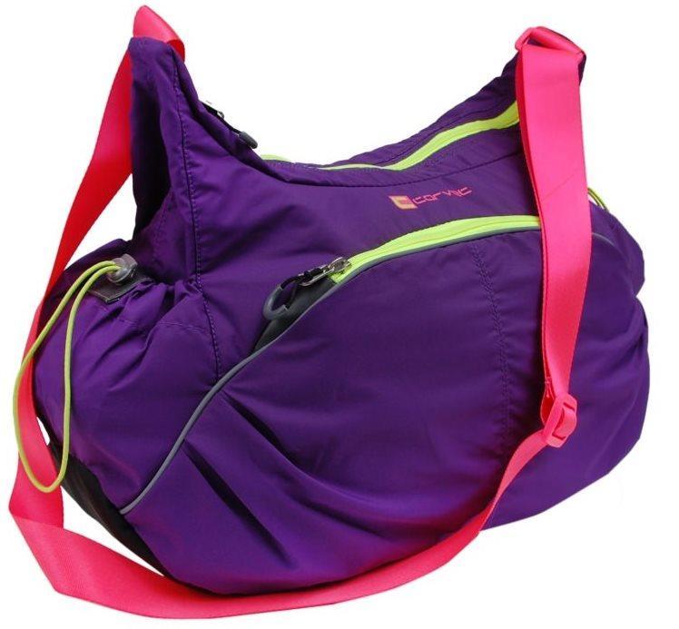 Купить Женская спортивная сумка 23 L Corvet HB4610-04 фиолетовая