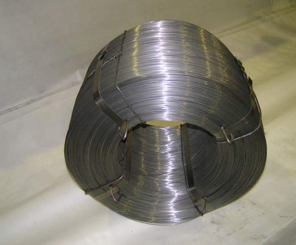Проволока низкоуглеродистая термически необработанная без покрытия твердая ГОСТ 3282-74