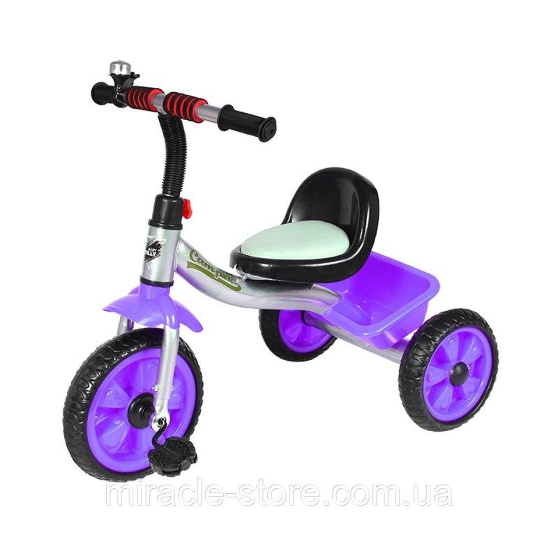 Купить Детский трехколесный велосипед от 2 лет TILLY TRIKE T-319 Фиолетовый