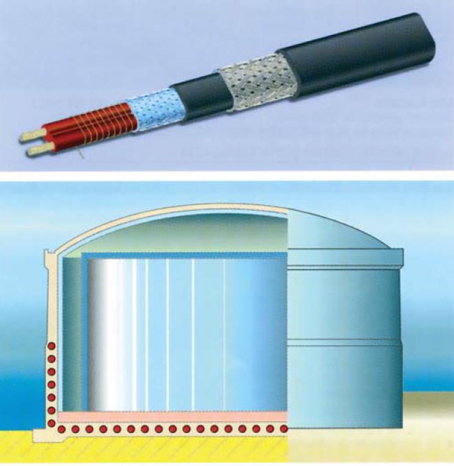 Системы обогрева трубопроводов, резервуаров, промышленный электроспутниковый обогрев