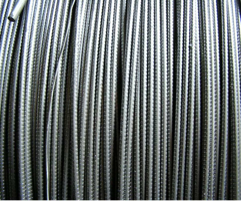 Проволока из высокоуглеродистой стали для армирования предварительного напряженных ЖБ конструкций класса ВР-2 по ГОС 7348-81