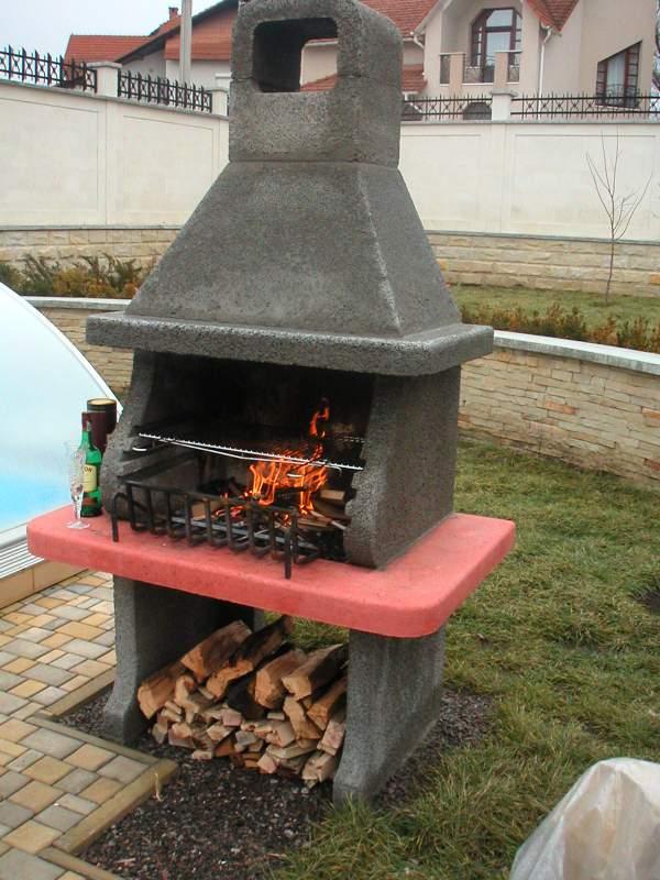 Садовая печь барбекю своими руками, Украина, Одесская обл.