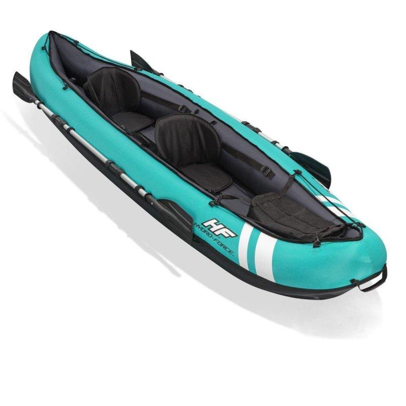 Купить Двухместная надувная байдарка (каяк) Bestway 65052 Ventura Kayak, 333 х 133 см, с веслами и насосом