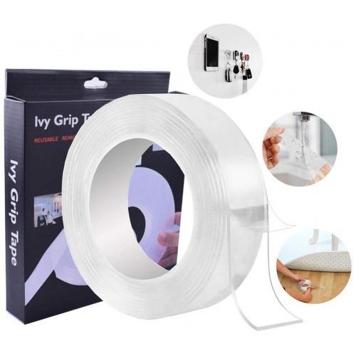 Купить Многоразовая крепежная лента Mindo Ivy Grip Tape Клейкая двусторонняя 5 м